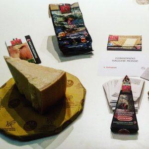 conservazione del parimgiano reggiano vacche rosse