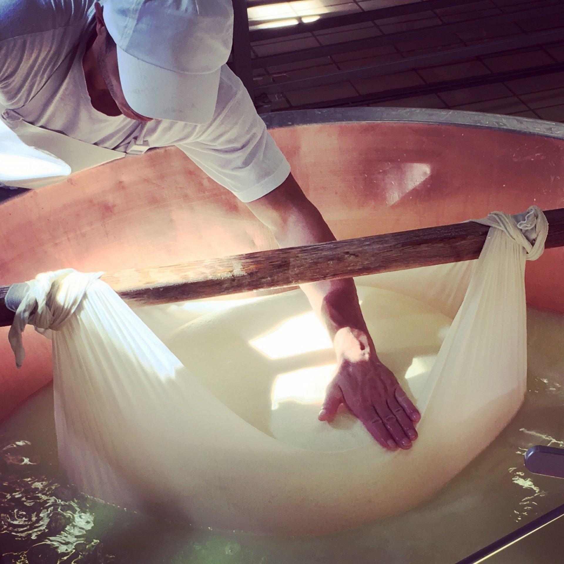 How to made Parmigiano Reggiano Red Cows