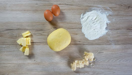 Torta salata al Parmigiano Reggiano Vacche Rosse, radicchio e pancetta (2)-2