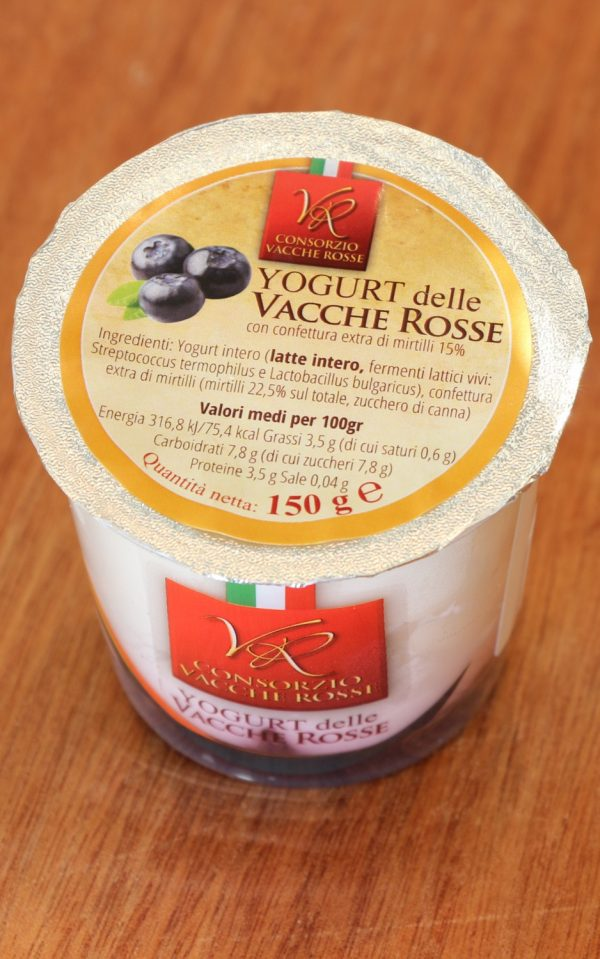 Yogurt Mirtillo 150 g