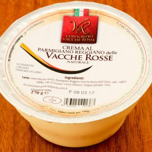 Crema al Parmigiano Reggiano delle Vacche Rosse 270g - naturale