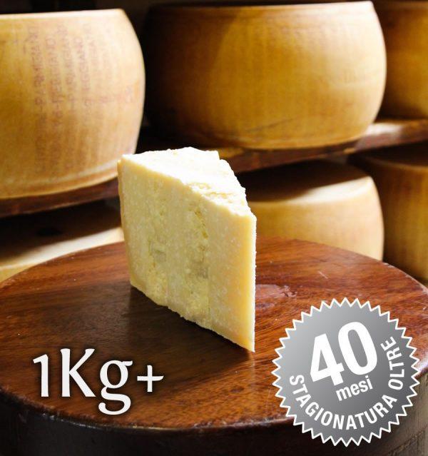 Parmigiano Reggiano Vacche Rosse oltre 40 mesi porzionato