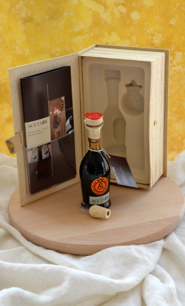Aceto balsamico tradizionale di Reggio Emilia 100 ml Etichetta Aragosta