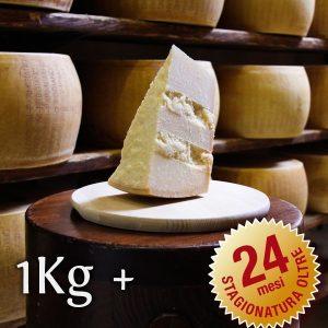Parmigiano Reggiano Vacche Rosse oltre 24 mesi porzionato