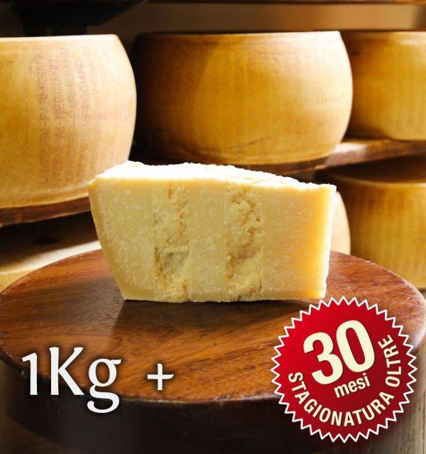 Parmigiano Reggiano Vacche Rosse oltre 30 mesi porzionato