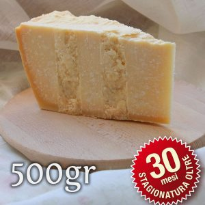 Parmigiano Reggiano Vacche Rosse oltre 30 mesi 500gr