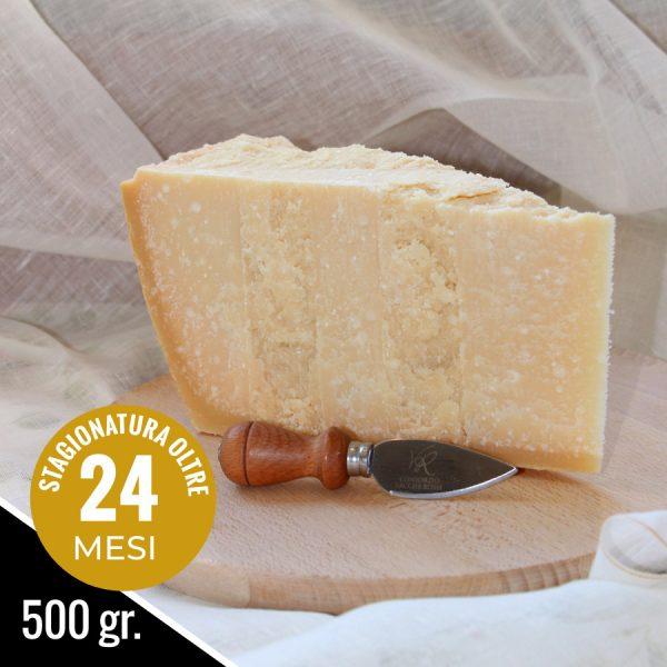 Parmigiano Reggiano Vacche Rosse stagionato 24 mesi